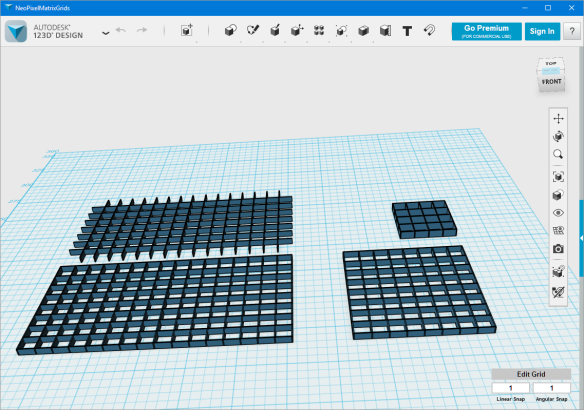 LED Diffuser Grids in Autodesk