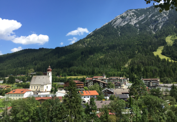 View from the Hill to Achenkirch