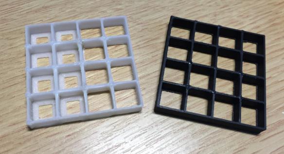 Small Test Matrix Prints