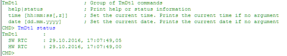 generictimedate-command-line-shell