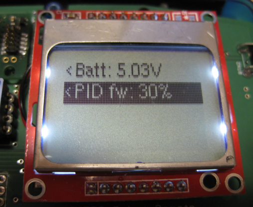 LCD Remote Values