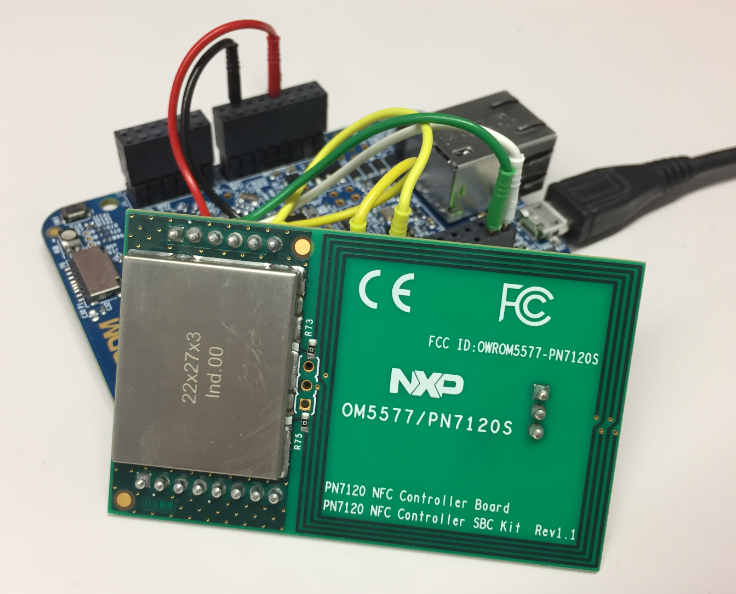 Tutorial: RFID Tags with the NXP NFC Controller PN7120 and