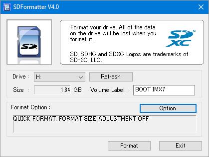 SDFormatter V4.0