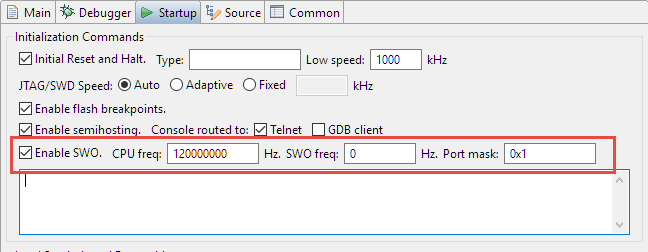 Tutorial: Using Single Wire Output SWO with ARM Cortex-M and