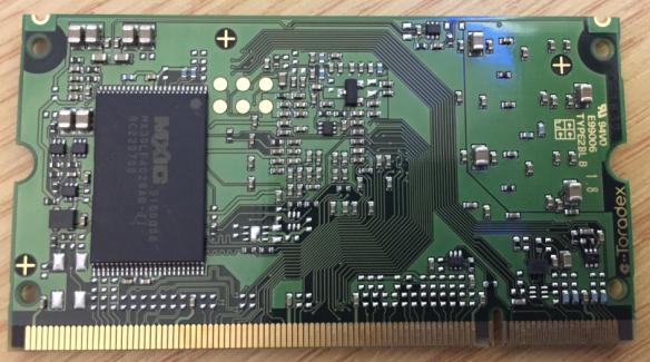 Toradex i.MX7D Module Bottom Side