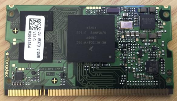 Toradex i.MX7D CPU Module