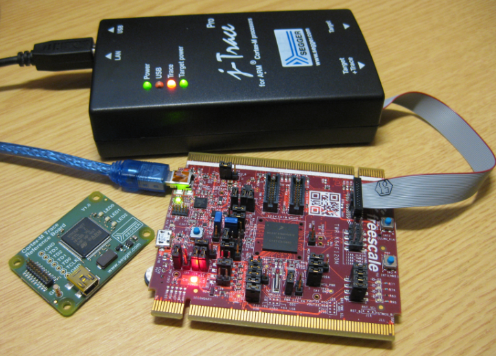 First Steps with Ozone and the Segger J-Link Trace Pro | MCU