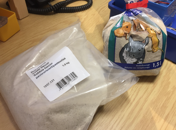 Sand Samples for Testing