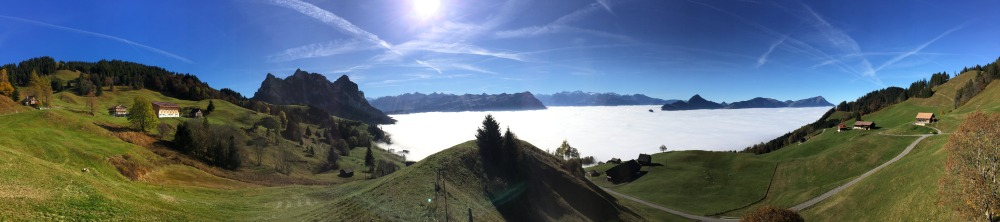 Inversion, view from Haggenegg