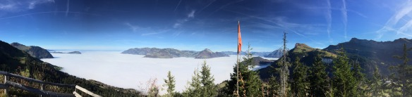 Inversion, view from Stockhütte