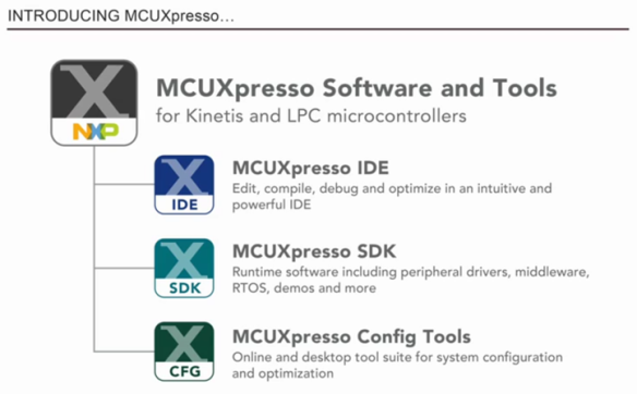 Introducing MCUXpresso