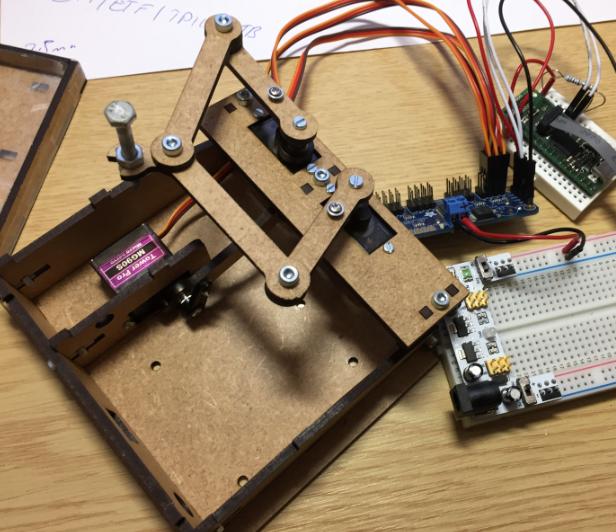 Sand Clock Prototype