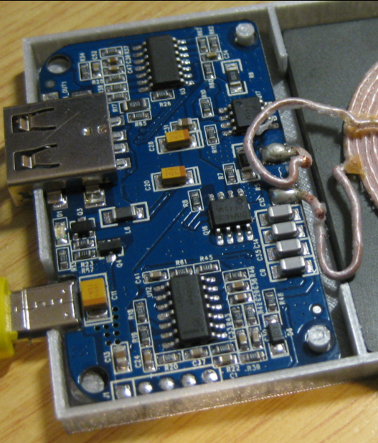 Qi Transmitter Board
