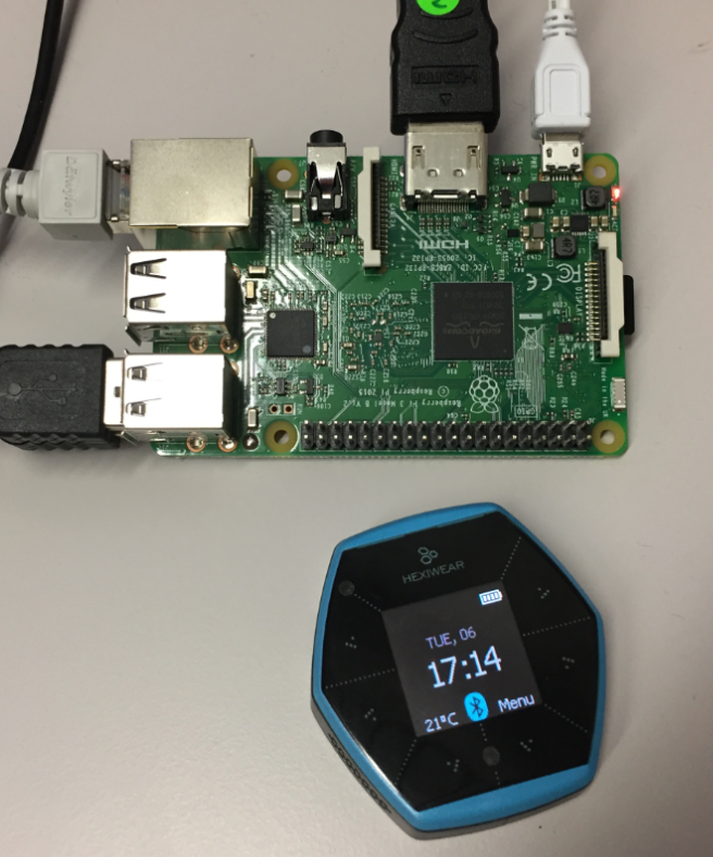 Tutorial: BLE Pairing the Raspberry Pi 3 Model B with Hexiwear | MCU
