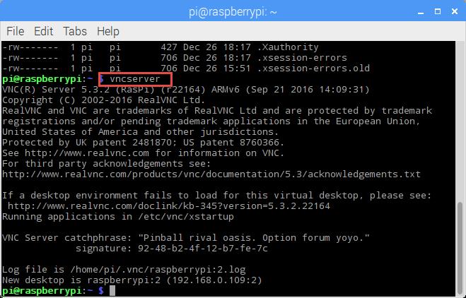 VNC Server on Raspberry Pi with Autostart | MCU on Eclipse