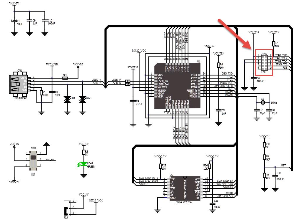 Reprogramming The Mikroelektronika Hexiwear Dockingstation