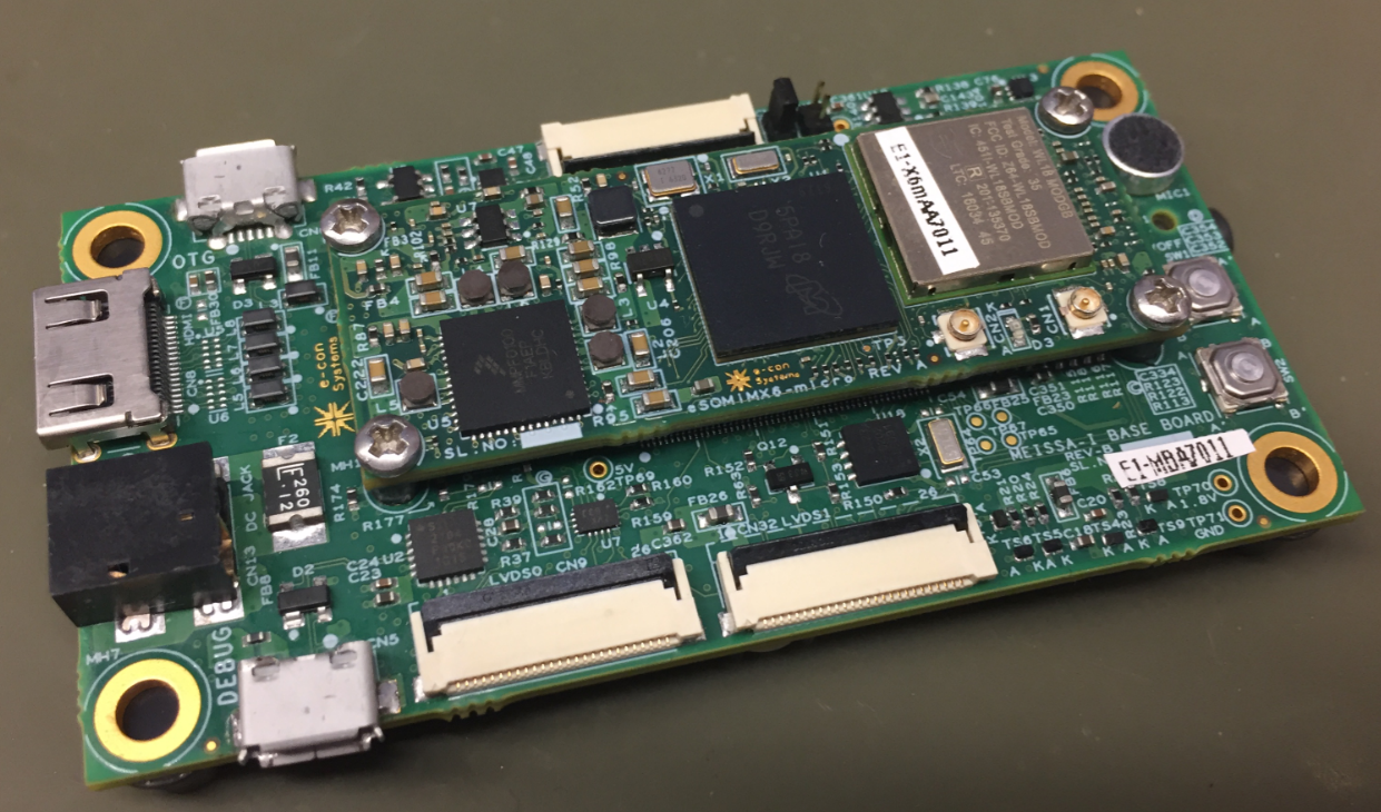 Unboxing The Esomimx6 Micro Nxp I Mx6 System On Module
