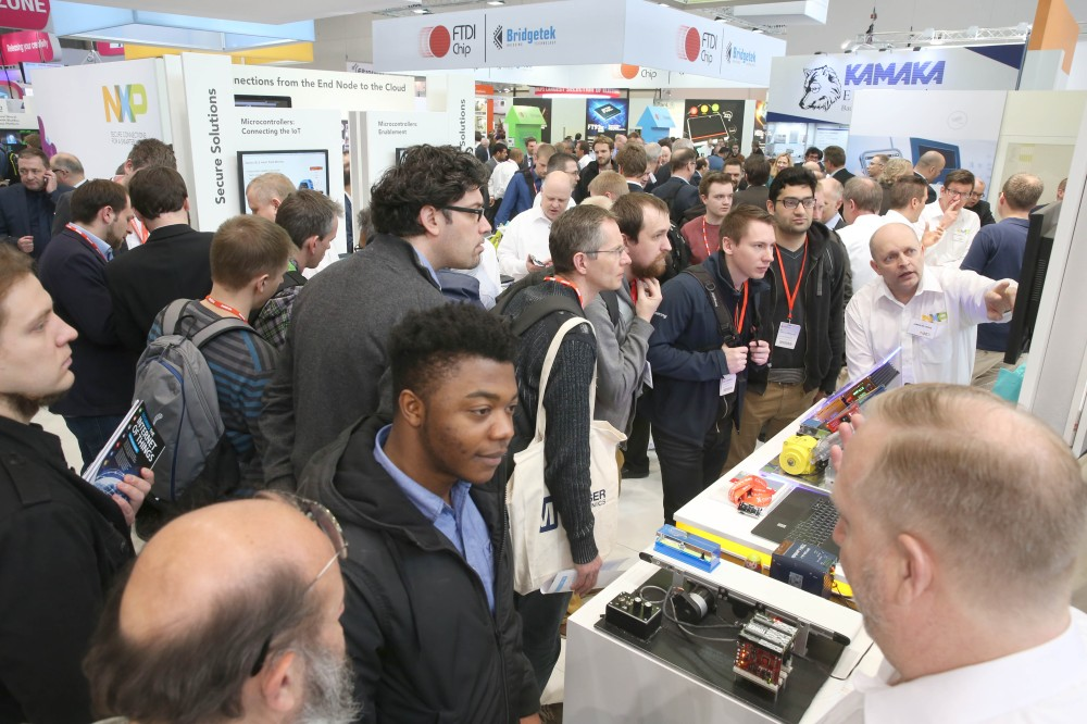 Lots of people (embeddedworld 2017)