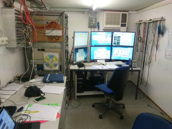 Control Room at PSI