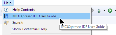 MCUXpresso User Guide