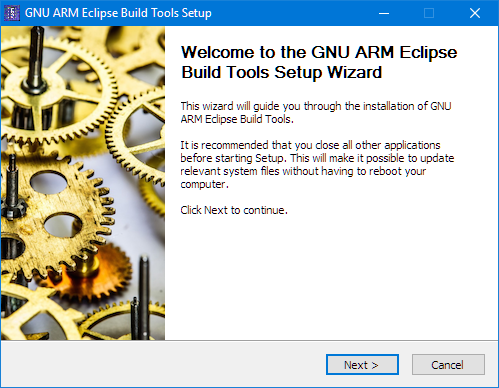 GNU ARM Eclipse Build Tools Setup