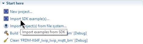 MQTT with lwip and NXP FRDM-K64F Board   MCU on Eclipse