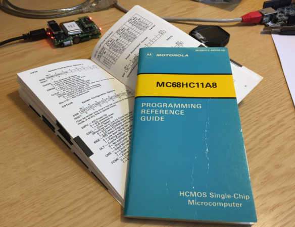 MC68HC11 Programmers Reference Manual