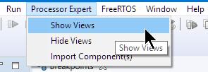 Processor Expert show views