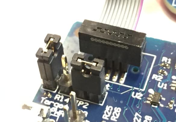 Debug External Board with Power Sense