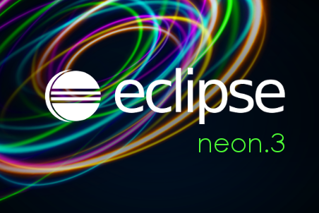Eclipse Neon Splash Screen