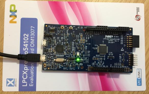 LPCXpresso54102 Board