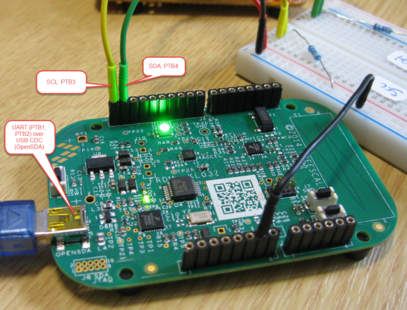 Bootloader UART and I2C Communication Pins