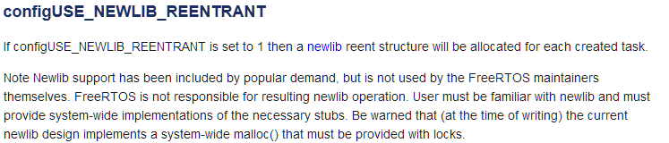 Using FreeRTOS with newlib and newlib-nano | MCU on Eclipse