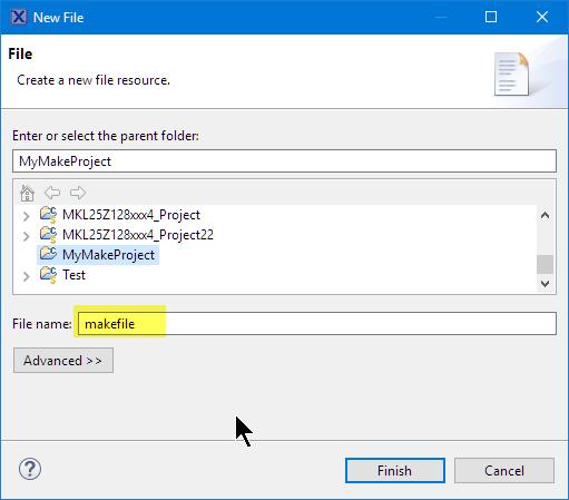 Creating Make File
