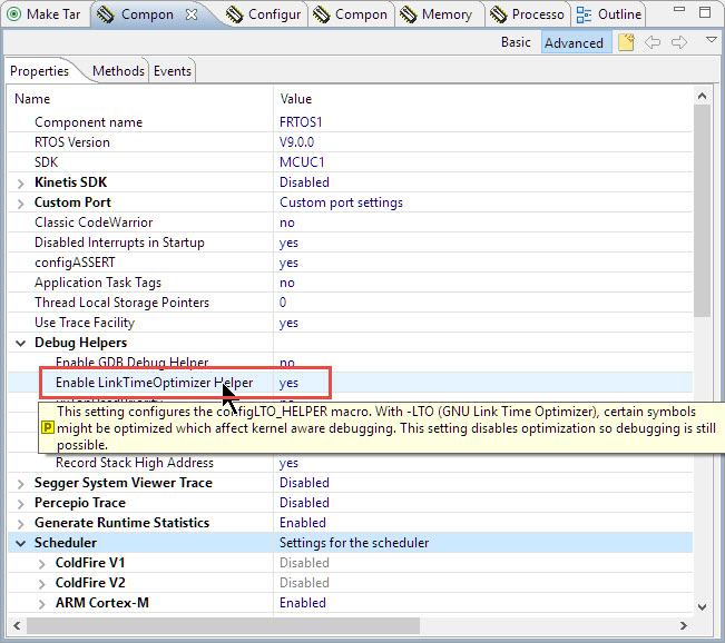 Troubleshooting Tips for FreeRTOS Thread Aware Debugging in