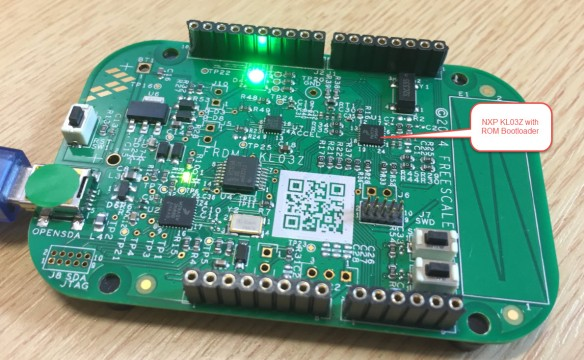FRDM-KL03Z with ROM Bootloader