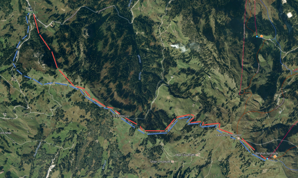 Ibergeregg Spirstock (Map: Google Earth)