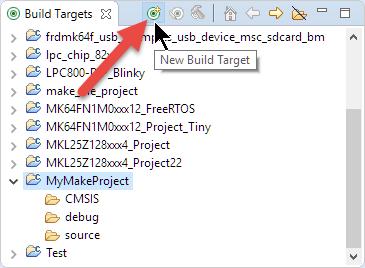 New Build Target