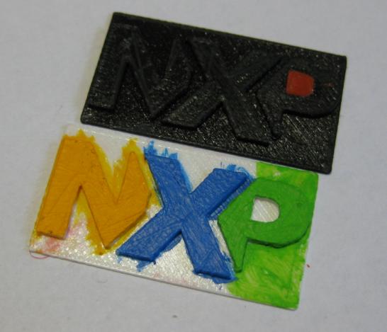 NXP Logo Inlet