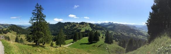 Panorama Aufstieg Müsliegg