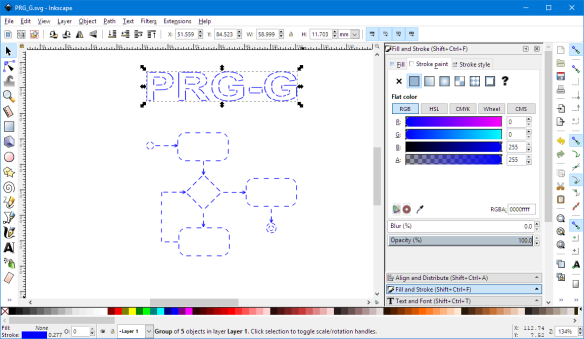 Design in Inkscape
