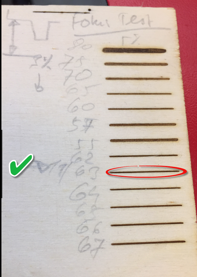 Tuning A Laser Cutter And Determine The Maximum Usable