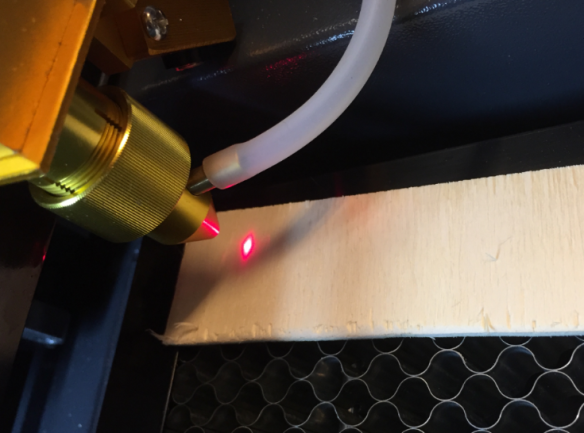 Getting Control over a 50 Watt CO2 Laser Cutter from China