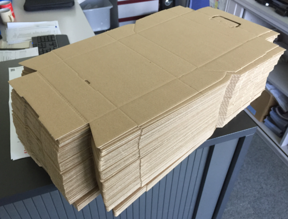 Material for 80 boxes