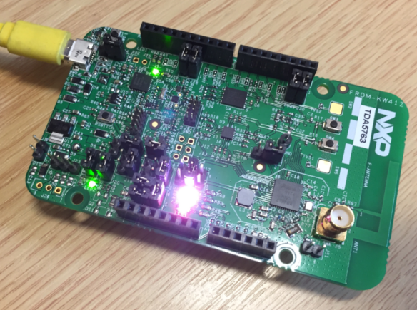 NXP FRDM-KW41Z Board