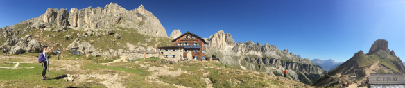 Panorama Rotwandhütte