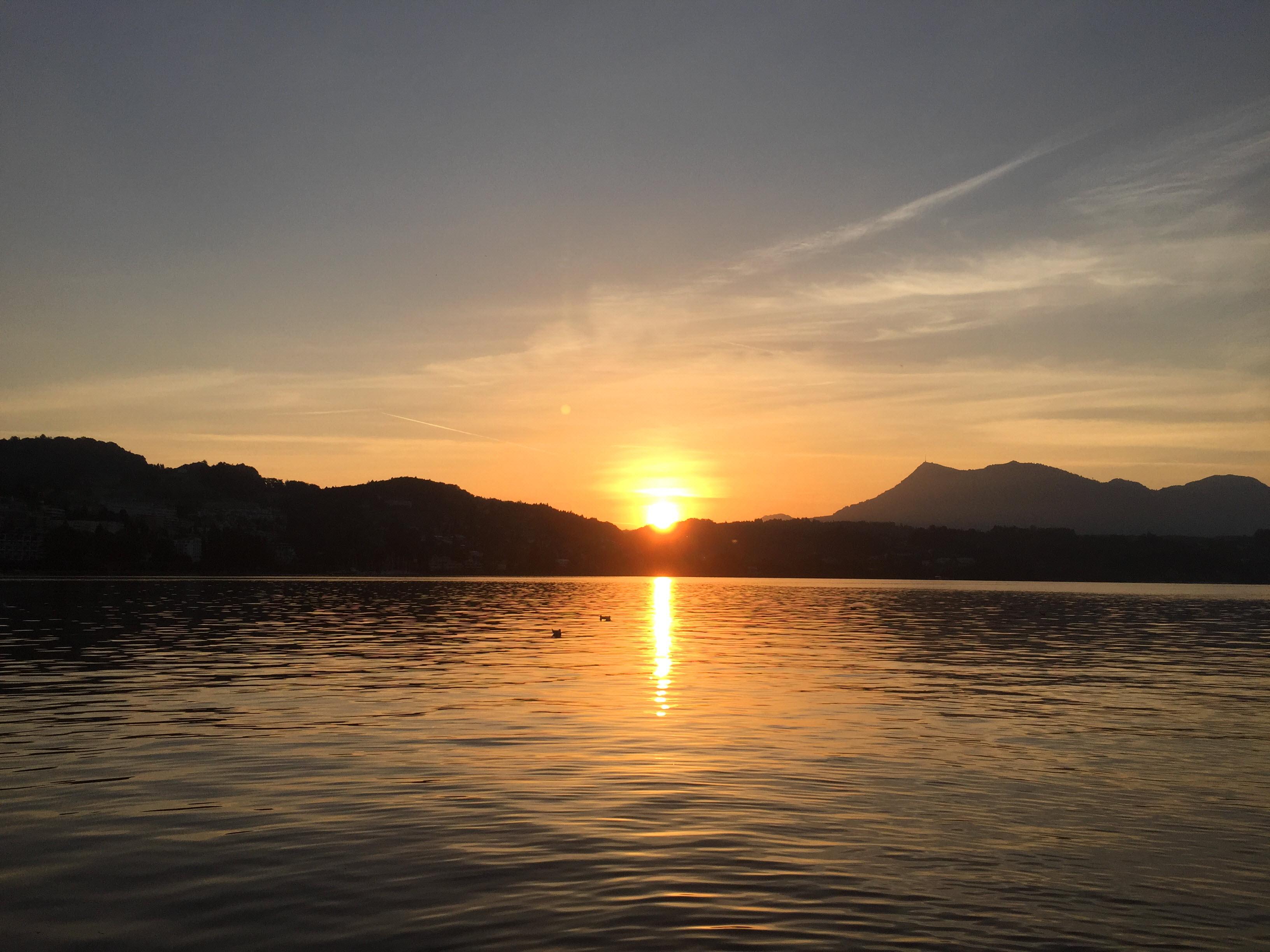 Rigi Sunrise