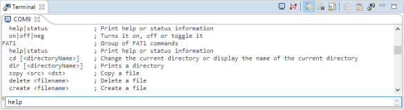 Using Serial Terminal and COM Support in Eclipse Oxygen and