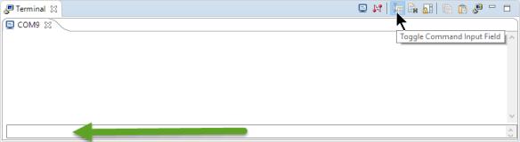 Toggle Command Input
