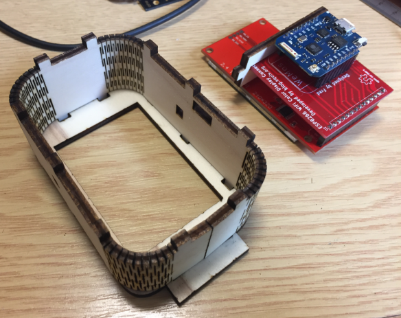 Custom Enclosure for the ESP8266 WiFi station